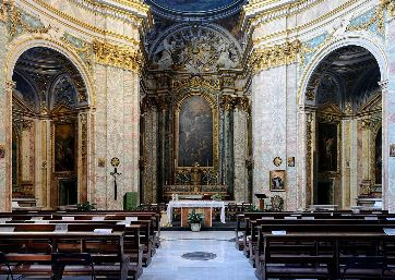 Get Married in Rome at 18th Century Baroque Church