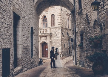 Get Married in Assisi at Elegant Building for Civil Weddings in Assisi