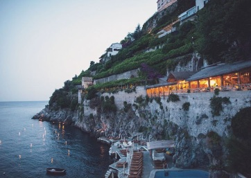 Get Married in Amalfi at Your Amalfi Reception on a Sunkissed Veranda