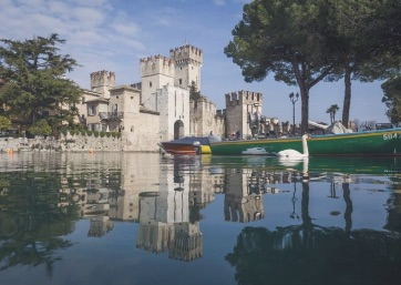 Get Married in Lake Garda at Castle For Outdoor Civil Weddings