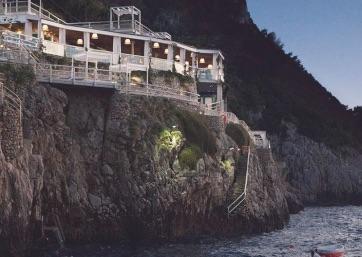 Get Married in Capri at Cliffside Restaurant