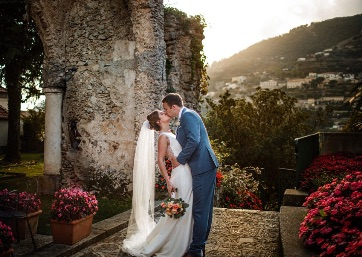 Weddings in Rachel & Liam - Ravello 2019